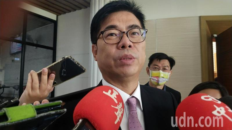 高雄市長陳其邁。記者蔡孟妤/攝影