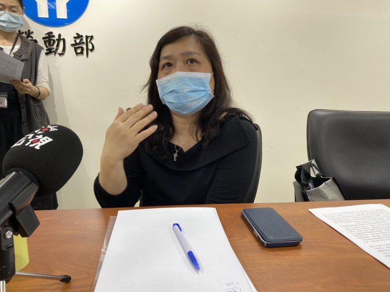 勞動基金運用局副局長劉麗茹。記者葉冠妤/攝影