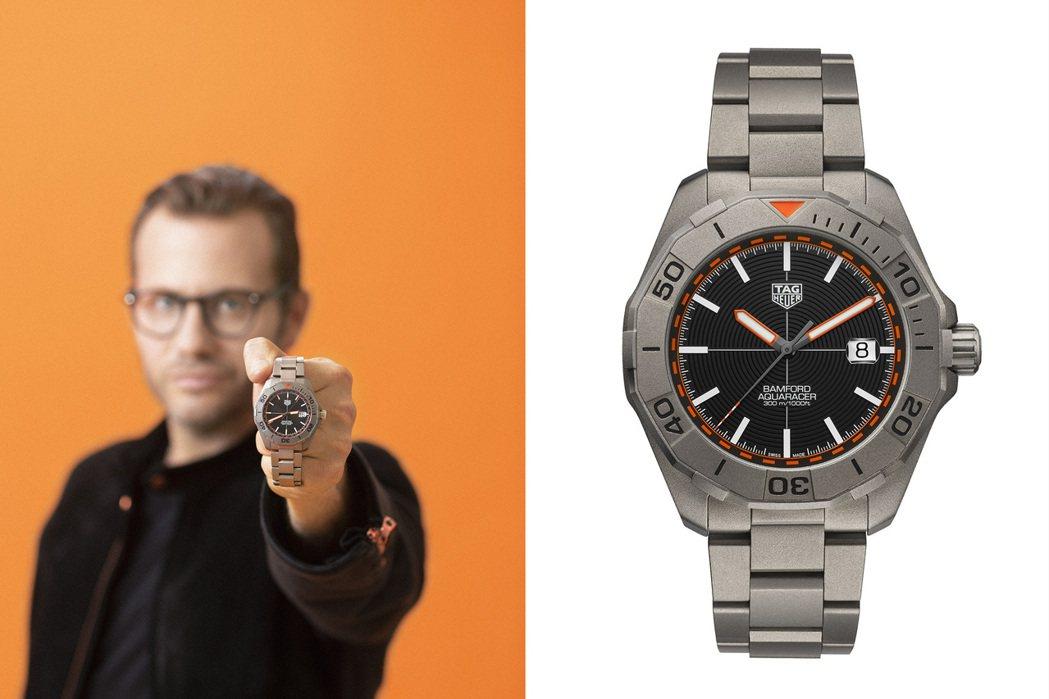 TAG Heuer再度攜手以改裝腕表聞名的Bamford Watch Depar...