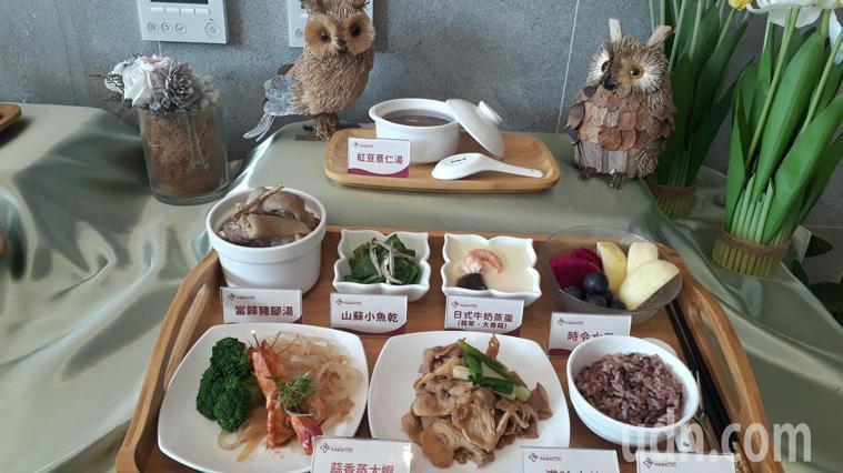 奇美產後護理之家今開幕,配合推出調理月子餐。 記者周宗禎/攝影