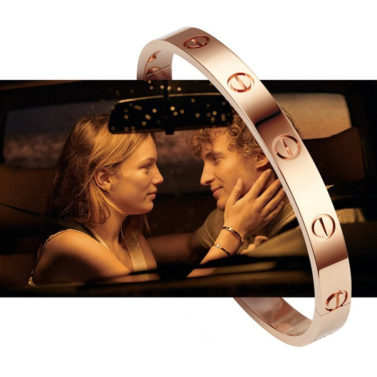 卡地亞LOVE手環寓意美好,向來是送禮首選。圖/卡地亞提供