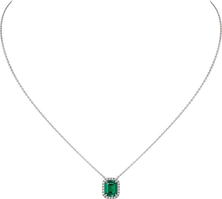 Cartier Destinée祖母綠項鍊,68萬5,000元。圖/卡地亞提供