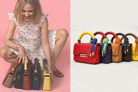 用繩結搭優雅皮革 Marc Jacobs新包讓凱莉米洛愛瘋了