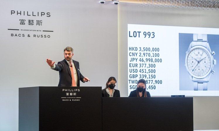富藝斯「名表薈萃─香港XI」專場,勞力士Oyster Chronograph, ...