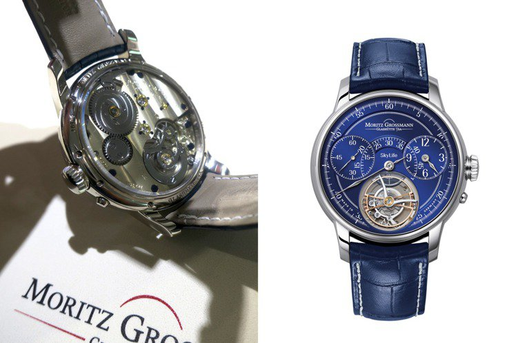 Benu Heritage Skylife陀飛輪腕表,原本源自瑞士私人飛機擁有者...