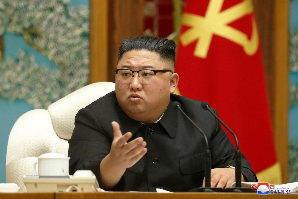 北韓國家領導人金正恩月前主持勞動黨第7屆中央委員會第20次政治局擴大會議,強調自...
