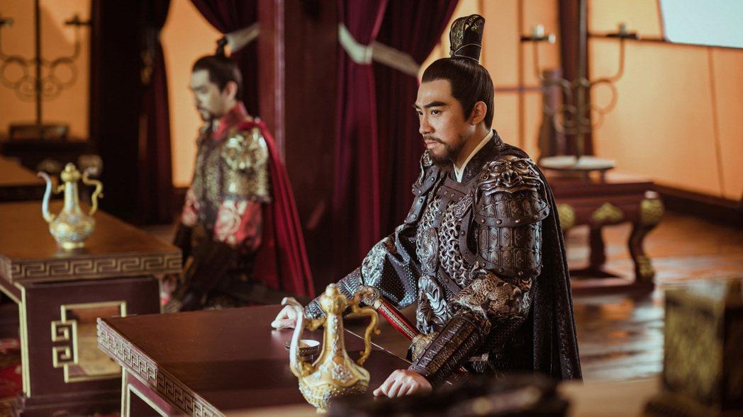 俞灝明演出「大明風華」。圖/八大提供