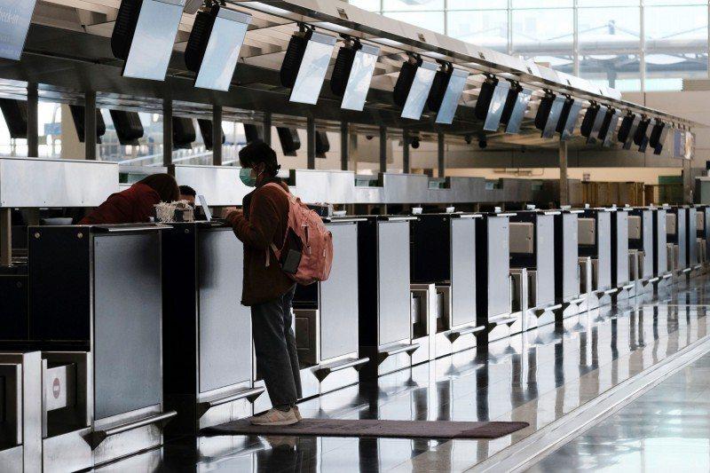 香港機場。圖/取自路透社