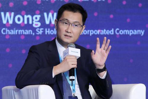 騰訊公司董事長馬化騰。百度圖庫