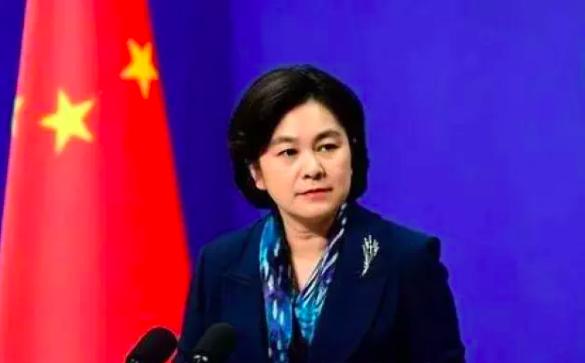 大陸外交部發言人華春瑩。澎湃新聞網