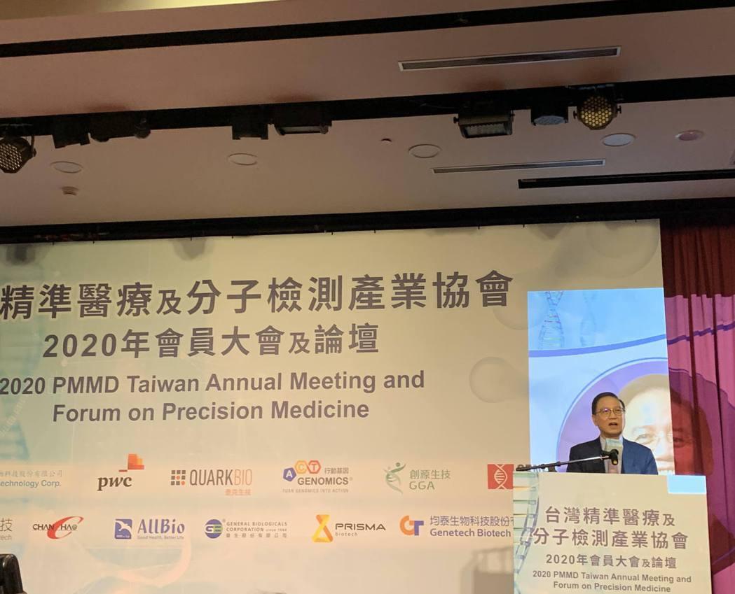 台灣精準醫療及分子檢測產業協會理事長李鍾熙表示,機會之窗成功的要件有四:分別是新...