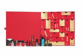 今年必收!亞曼尼耶誕倒數月曆,絕美正貨唇萃超夯色號