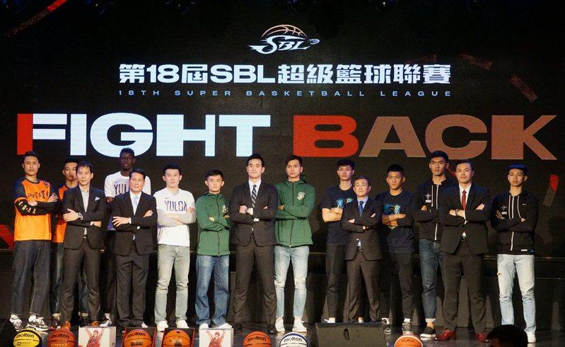 第18季SBL將於5日在新莊體育館開打。記者劉肇育/攝影