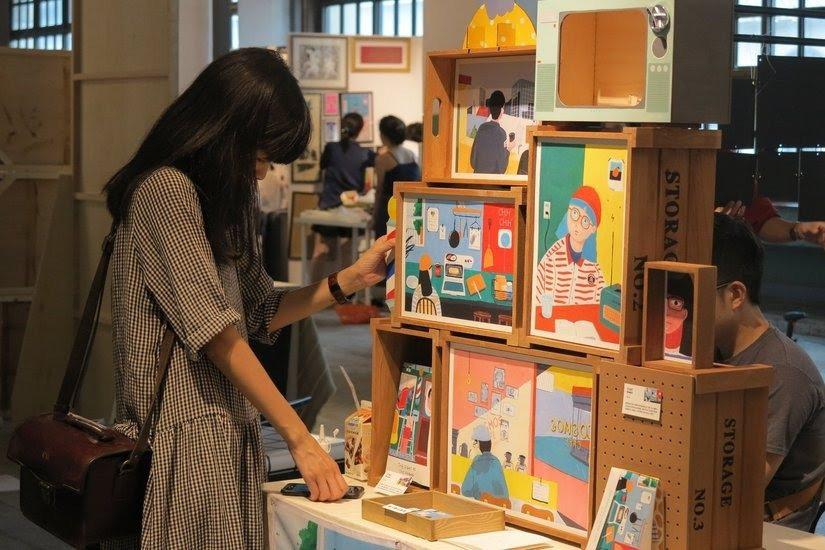 台北插畫藝術節是一口氣認識一百位插畫家的好方法! 圖/台北插畫藝術節提供