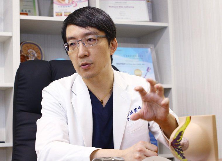 整型外科陳振坤醫師提醒,雖然現在流行愈大愈好,但隆乳必需依個人體型及兼顧美感而定...