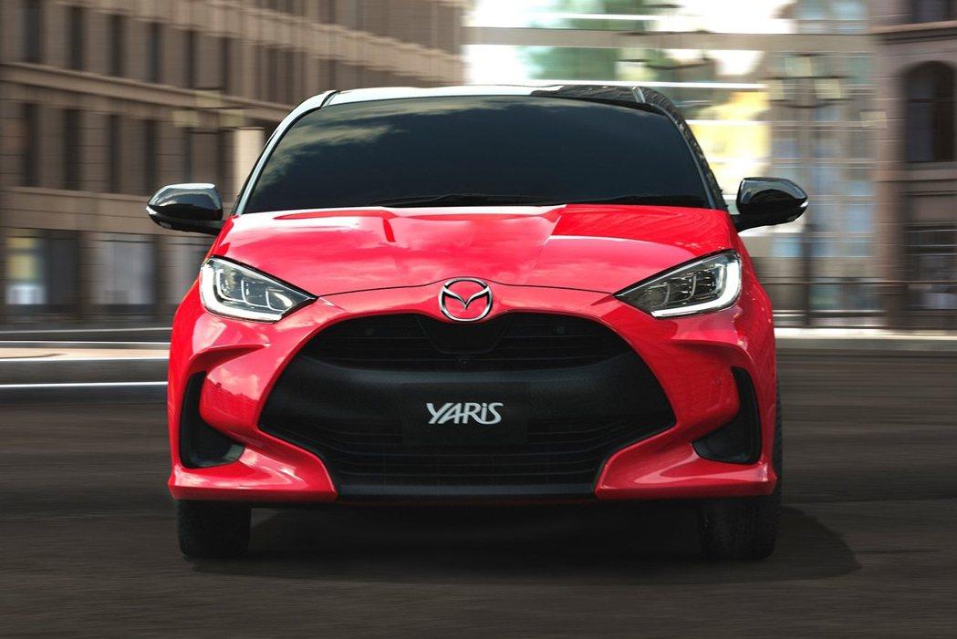 日後歐洲將會有貼上Mazda廠徽的Yaris出現。 摘自Toyota、Mazda