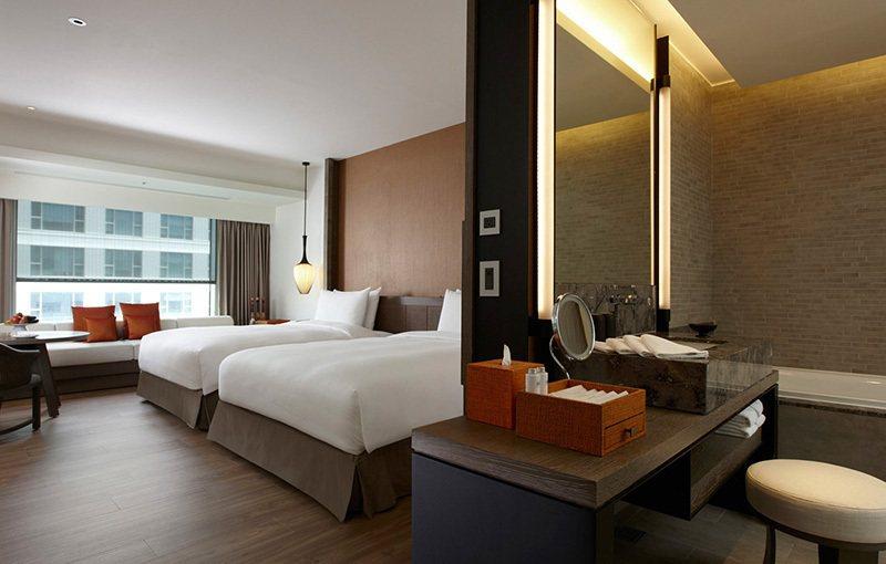 圖為小西門家庭套房(二中床)。 圖/台南晶英酒店官網