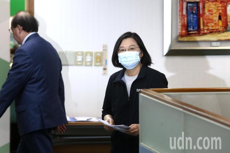 蔡英文總統。 聯合報系資料照/記者蘇健忠攝影
