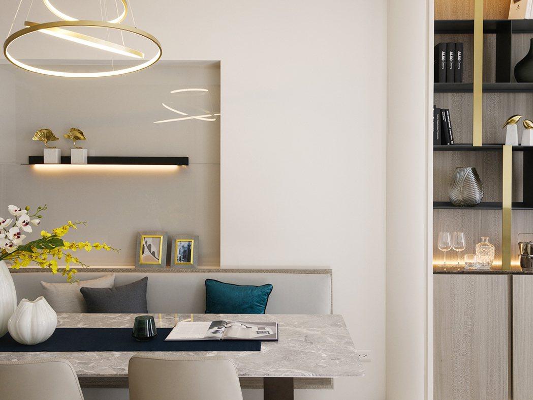 全室ICI竹炭乳膠漆吸附室內空氣中殘留的甲醛和PVOC。圖片提供/百立建設