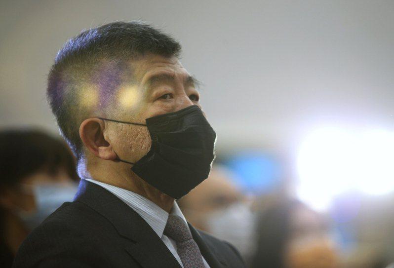 衛福部長陳時中。記者余承翰/攝影