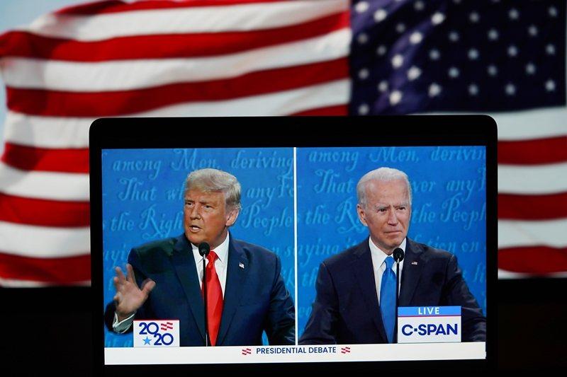 美國總統大選的爭議方興未艾,但從日前習近平發賀電給拜登的動作觀察,這場選戰已經有了基本的輪廓。 圖/新華社