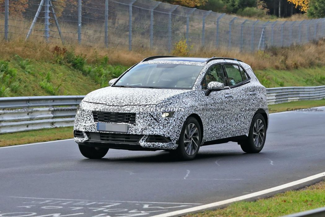 第五代Kia Sportage將有著與現行版截然不同的外觀設計。 摘自Carsc...