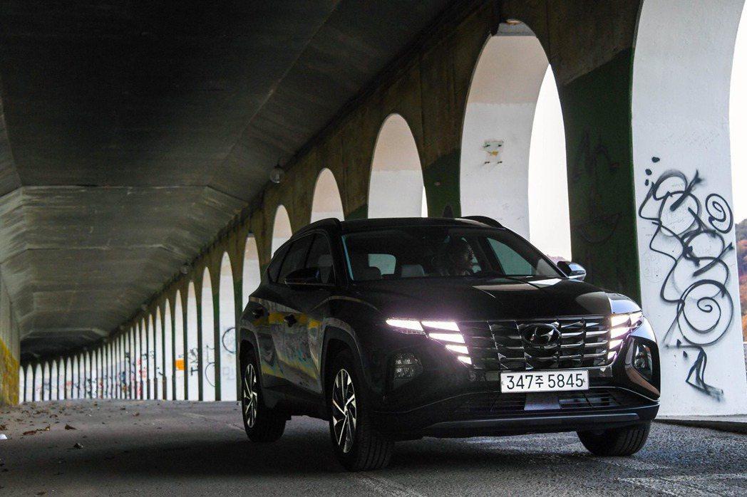 跳脫框架改以前衛模樣誕生的新世代Hyundai Tucson (原廠代號NX4)...