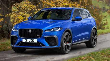 小改款Jaguar F-Pace SVR不僅性能增強 還更豪華精緻!