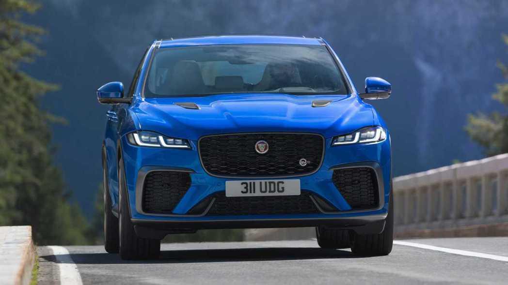 Jaguar F-Pace SVR。 圖/Jaguar提供