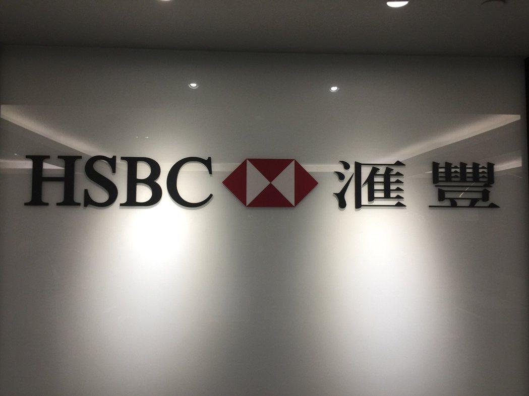 滙豐(台灣)商業銀行昨(1)日宣布發行首檔新台幣30億元的綠色債券。 攝影/記者...