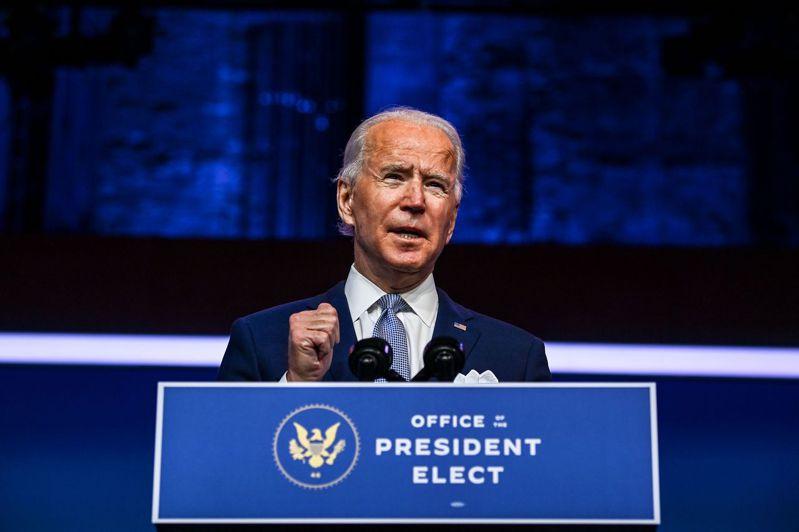 美國總統當選人拜登。圖/法新社