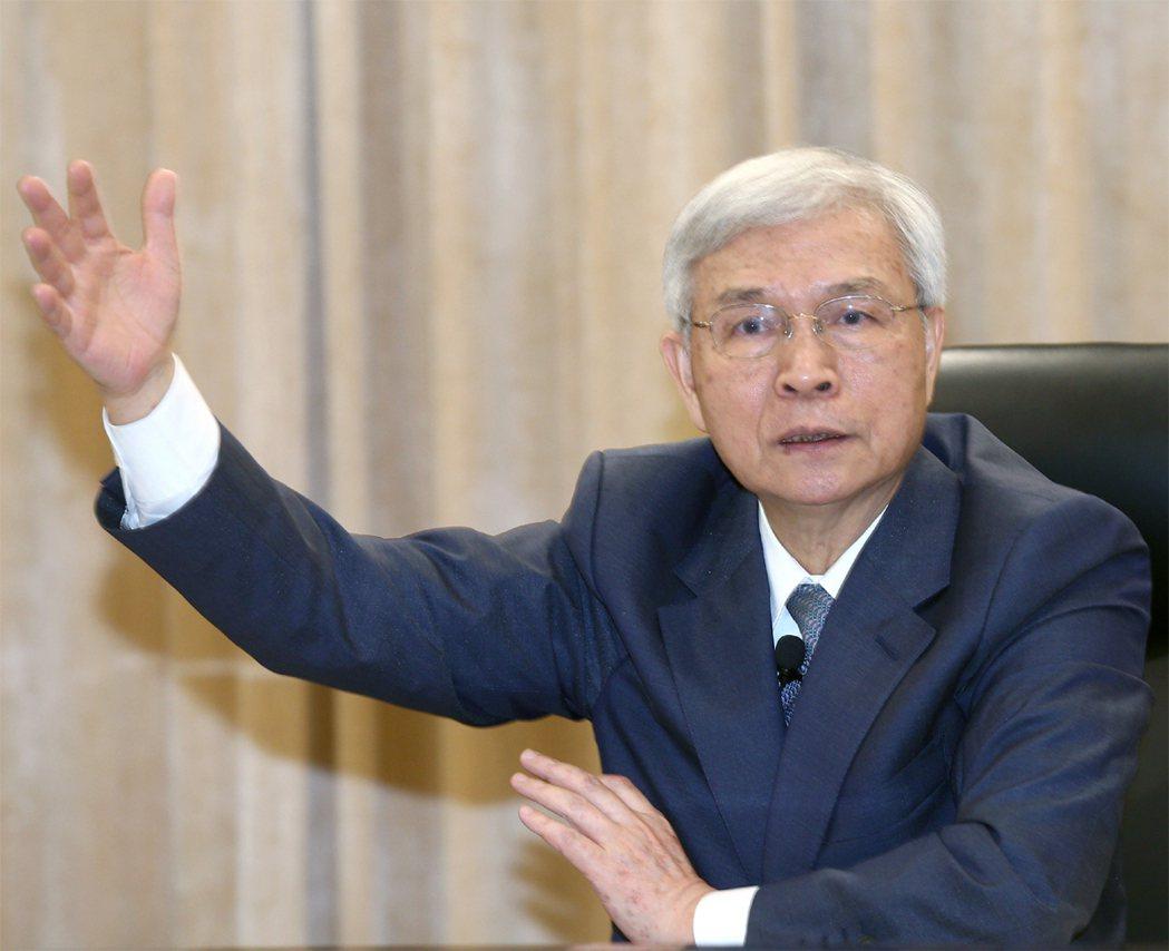 中央銀行總裁楊金龍。記者蘇健忠/攝影