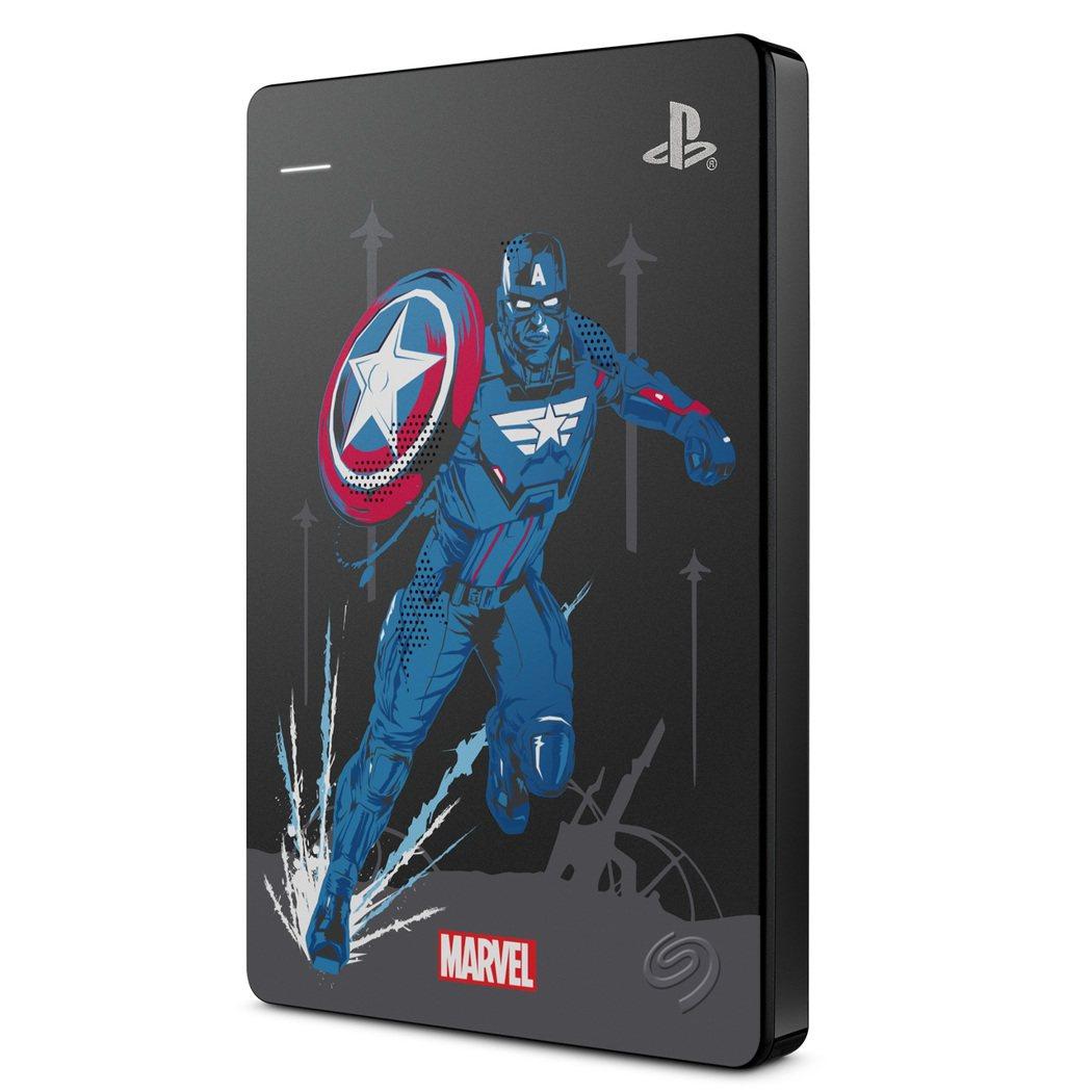 此為市面上唯一獲得漫威復仇者聯盟正式授權的典藏版硬碟,分別有美國隊長、浩克、索爾...