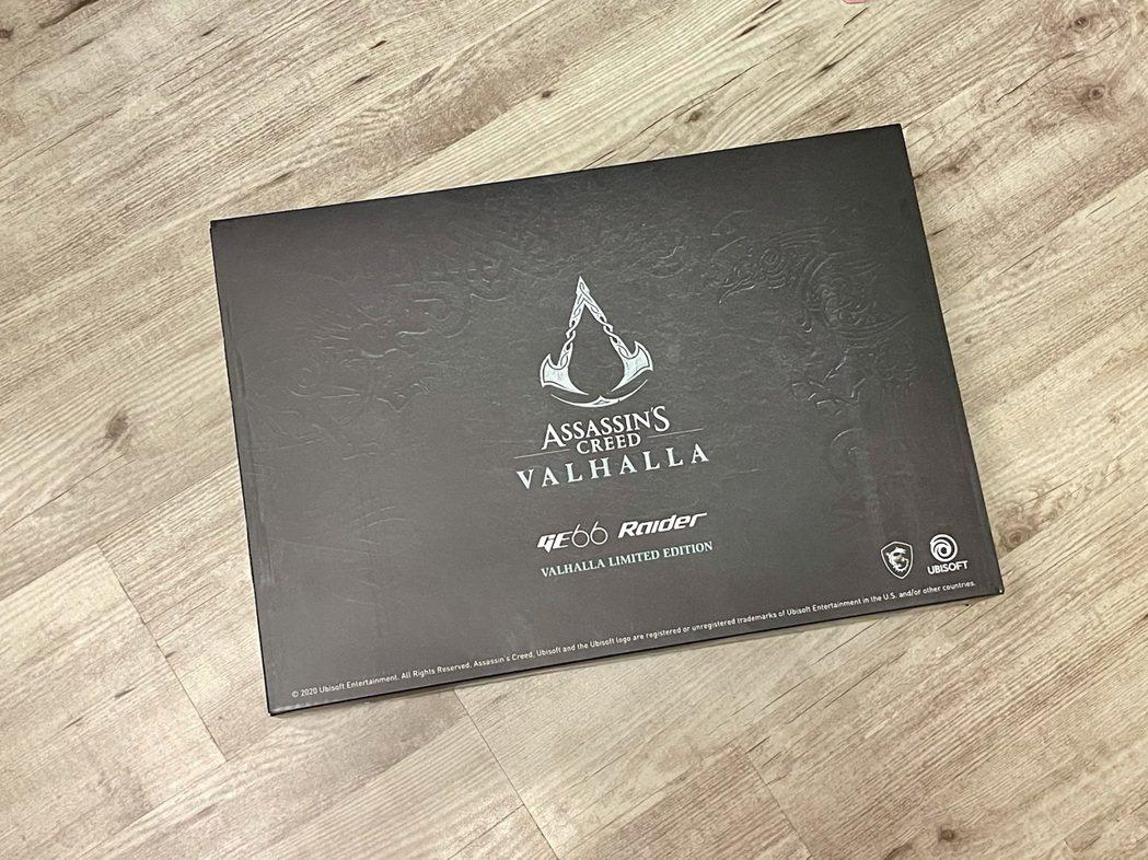 外包裝採用「刺客教條:維京紀元(Assassin's Creed Valhall...