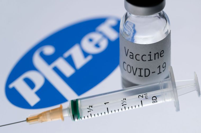 英國已經訂購4000萬劑BioNTech與輝瑞研發的疫苗;這款疫苗在預防新型冠狀...