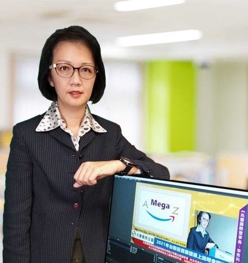 兆豐國際投顧董事長李秀利。圖/兆豐國際投顧提供