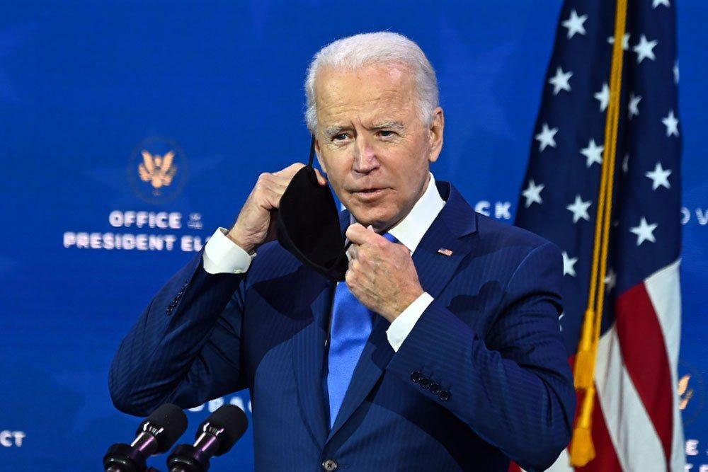 美國總統當選人拜登。法新社