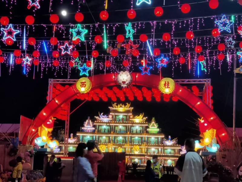 南投縣埔里鎮埔里12年1次的大拜拜,今年更是120週年的庚子年祈安清醮。記者賴香珊/攝影