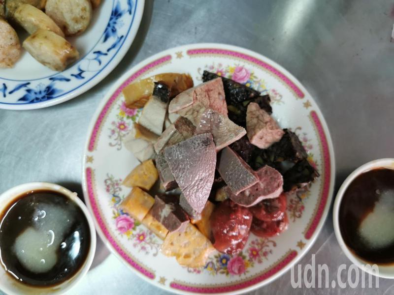 「北興老牌魯熟肉」是嘉義市庶民午後點心。記者卜敏正/攝影