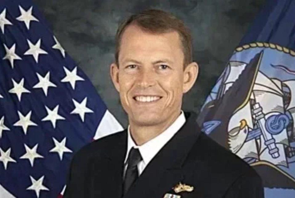 美軍印太司令部少將情報處長史達曼。圖/取自美國海軍官網