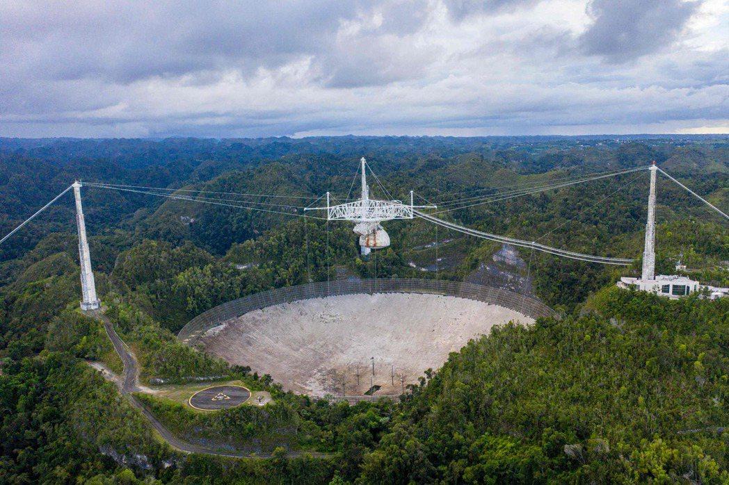 阿雷西博射電天文台於1963年完工,主要任務是協助科學家發展無線電天文學,以及對...