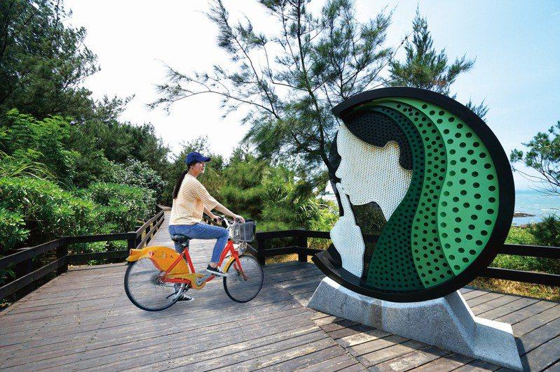 北觀處優化北海岸3條主要自行車道,美景、美食享人情味。圖/北觀處提供