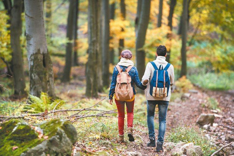 親近大自然,可降低心血管壓力。圖/123RF