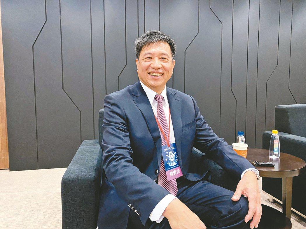 友達董事長彭双浪  記者康陳剛/攝影