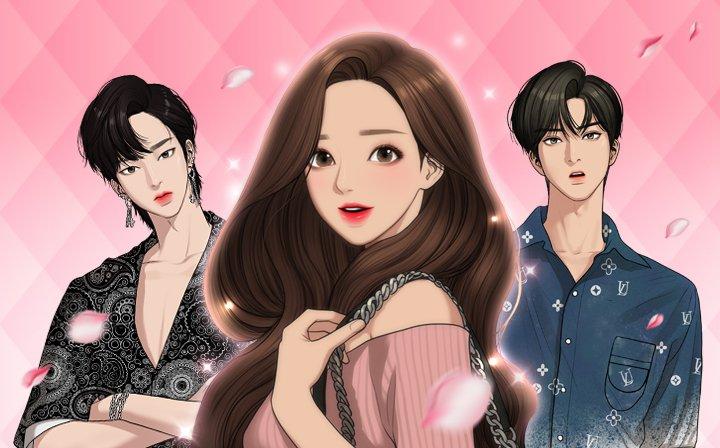 《女神降臨》已改編成韓劇,即將在本月上映。 圖/LINE WEBTOON提...