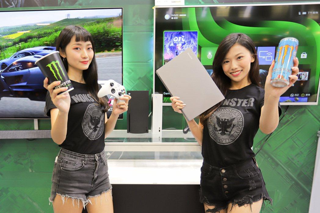 捷元攜手微軟Xbox及能量飲「Monster Energy」,於資訊月打造超Hi...