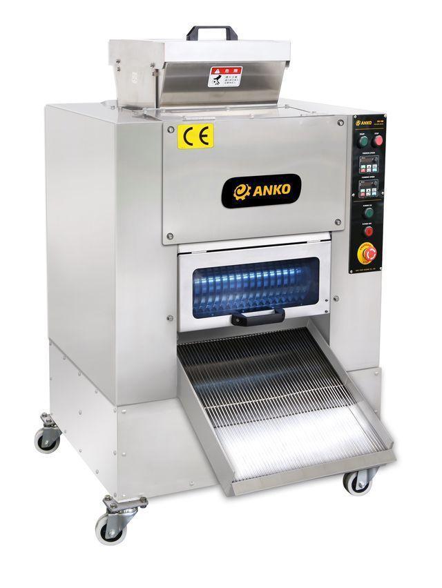 安口食品機械公司開發的全自動湯圓、粉圓、芋圓製造機(GD-18B),可生產多樣化...