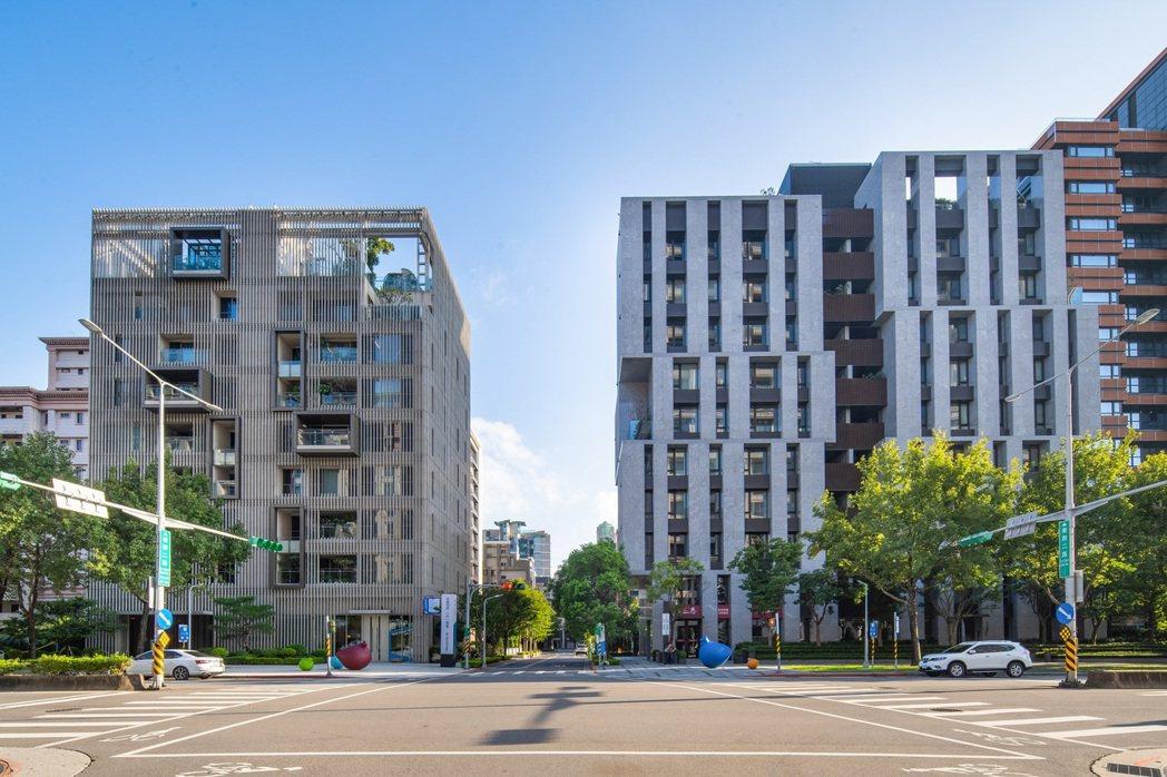 坐落於樂群二路上的「首泰三悉」分為「磊若」、「風昀」兩棟建築,位處大直精華區,鄰...