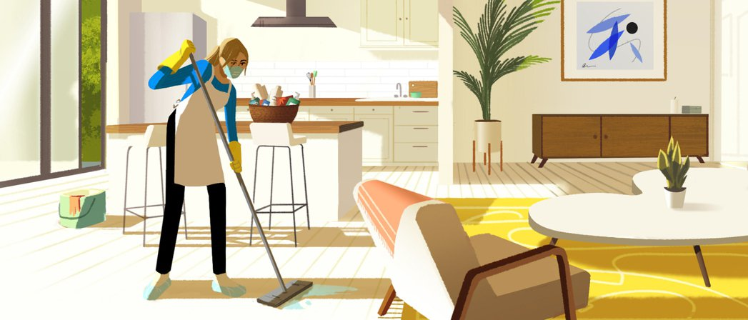 所有Airbnb房東都需要承諾遵循深度清潔五步驟。 Airbnb /提供
