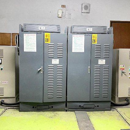 高使用頻率多樓層電梯電能回收再利用。 臺科大/提供